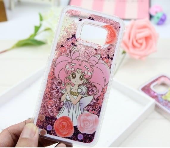 (現貨特價)三星S7/S7edge 美少女戰士 月野兔 手機殼 手機套 流沙殼 迪士尼公主 美人魚 長髮公主