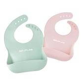 全館83折寶寶吃飯圍兜嬰兒童防水硅膠食飯兜圍嘴 防臟神器超軟小孩口水巾