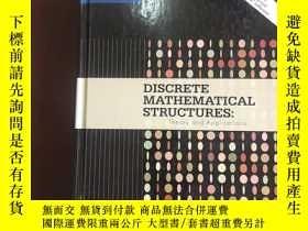 二手書博民逛書店Discrete罕見Mathematical Structure