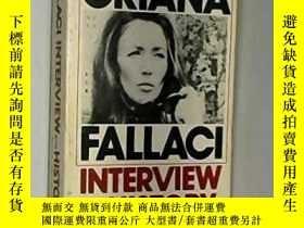二手書博民逛書店Interview罕見With History-歷史訪談Y436638 Oriana Fallaci Houg