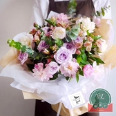 【45張/包】禮品花束包裝紙包花紙花藝雪梨紙鮮花包裝紙材料【福喜行】