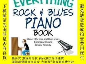 二手書博民逛書店The罕見Everything Rock & Blues Piano BookY410016 Eric Sta