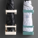雨架 雨傘收納架家用簡約創意放置架墻上壁掛免打孔置物架傘筒瀝水傘架【快速出貨八折搶購】