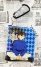 【震撼日式精品】名偵探柯南Detective Conan~柯南零錢包附扣-深藍*50102