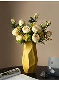 花瓶現代簡約擺件客廳插花干花裝飾品陶瓷擺設【聚寶屋】