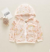 嬰兒防曬衣夏季男童透氣空調衫女童輕薄皮膚衣兒童裝外套寶寶夏裝