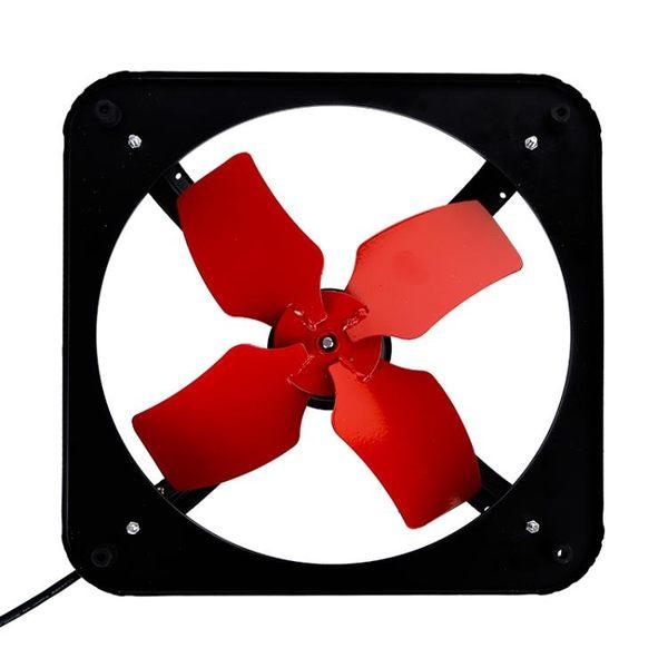 強力10寸廚房排風扇窗台排油煙機工業全鐵換氣扇金屬抽風排氣扇 igo初語生活