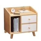 床頭櫃置物架簡約現代臥室收納小櫃子床邊儲物櫃北歐小型迷你簡易【618店長推薦】