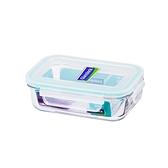 大廚師百貨-Glass Lock強化玻璃保鮮盒400ml長方型密封盒RP519便當盒副食品保存盒