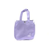 KANGOL 側背包 帆布袋 粉紫色 6955301691 noA40