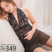 睡衣 性感裸背蕾絲睡衣-睡裙-性感、情趣、居家服_蜜桃洋房