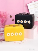 少女心化妝包可愛日系便攜大容量收納盒箱韓國品風超火小號袋『艾麗花園』