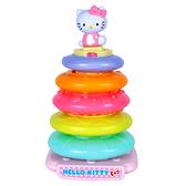 【Hello Kitty 凱蒂貓】樂彩虹疊疊樂 KT96004