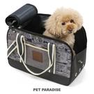 【PET PARADISE 寵物精品】SNOOPY 漫畫圖案單肩外出包-灰色【小1.5~4kg】  寵物外出包