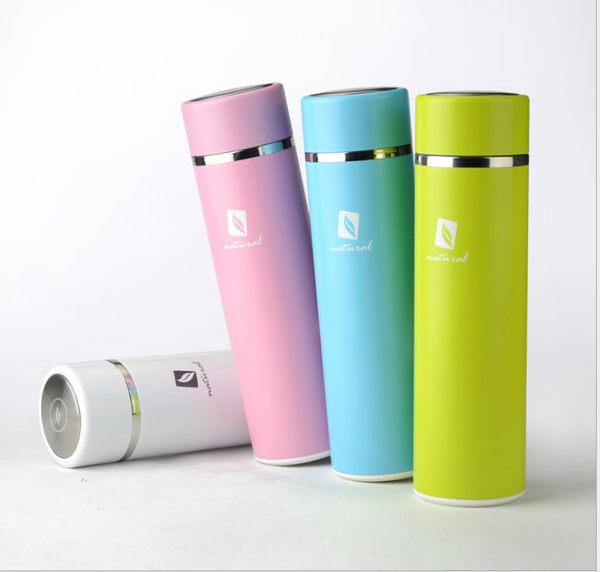 馬卡龍新色 保溫杯含茶濾蓋泡茶杯子瓶學生保暖杯女韓版清新文藝 星巴克 鍋寶 象印 便攜 參考