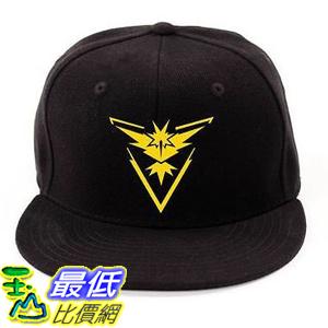 [美國直購] 神奇寶貝 精靈寶可夢周邊 Pokemon B01KAV56IY Go - Team Instinct Valor Mystic Premium Baseball Cap Hats