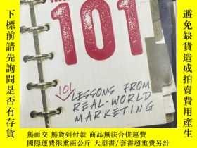 二手書博民逛書店Brand罕見Management 101: 101 Lesso
