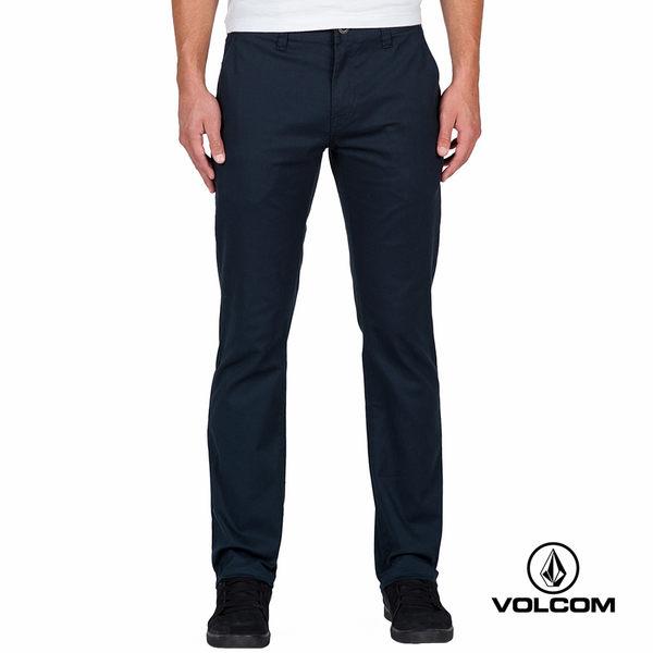VOLCOM FRICKIN MODERN STRET 都會修身型長褲-深藍