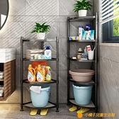 浴室置物架衛生間臉盆架廁所洗手間收納架子多層三角架落地式神器【小橘子】