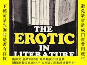 二手書博民逛書店稀缺,The罕見Erotic in Literature: a Historical Survey of Porn