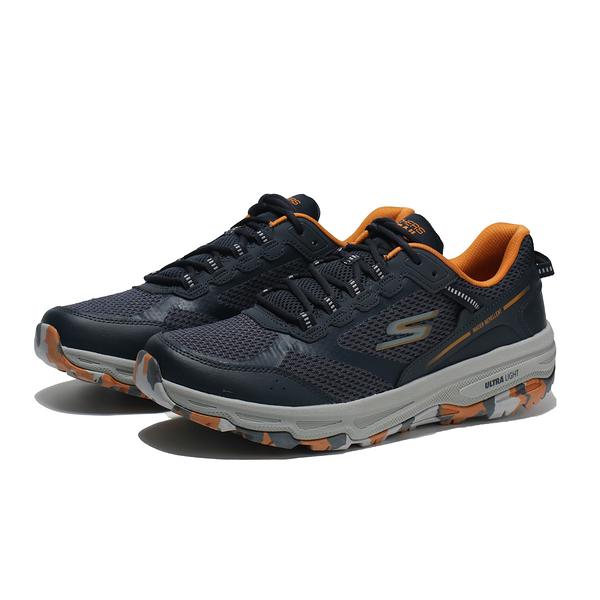 SKECHERS 慢跑鞋 GO RUN TRAIL ALTITUDE 藍橘 防潑水 越野 男 (布魯克林) 220112NVMT