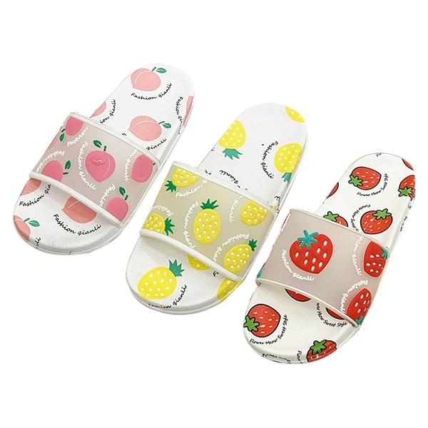 夏季可愛水果防滑拖鞋(1雙入) 款式/尺寸可選【小三美日】
