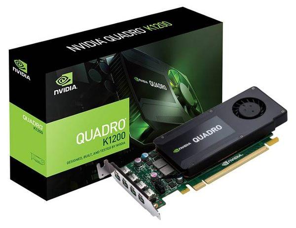 【台中平價鋪】全新 麗臺 NVIDIA Quadro  K1200 4GB GDDR5 PCI-E 工作站繪圖卡(MDP-DP)