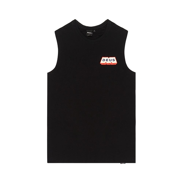 Deus Ex Machina Mighty M Muscle 無袖T恤 - 黑