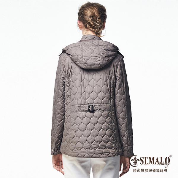 【ST.MALO】經典羊駝蓄暖外套-1655WJ-貂皮灰