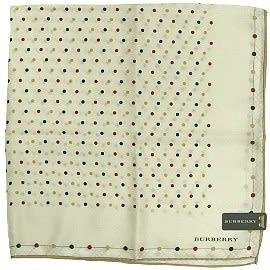 【波克貓哈日網】Burberry絲巾新款 ◇ 超柔絹材質 ◇ 《57x57 cm 》 米底水玉圓點 ~~絲巾領巾