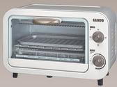 SAMPO 聲寶 9L 電烤箱 KZ-PA09/集屑盤設計/溫控安全保護/三段火力