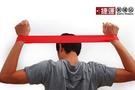 瑜珈伸展健身訓練環狀阻力帶-紅色