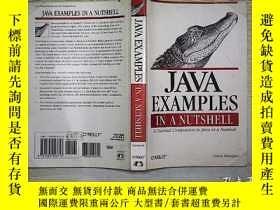 二手書博民逛書店Java罕見Examples in a Nutshell (30