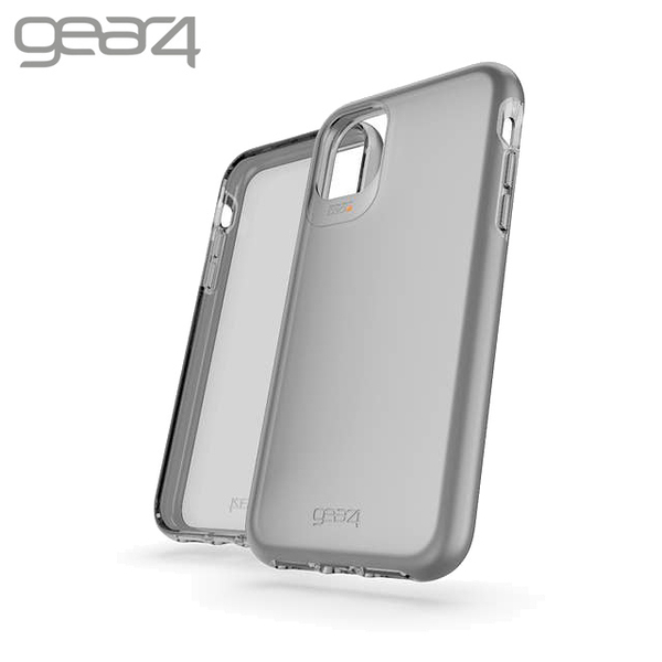Gear4 Hampton iPhone 11(6.1吋)霧透黑防摔保護殼