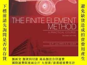 二手書博民逛書店The罕見Finite Element Method Second Edition: A Practical Co