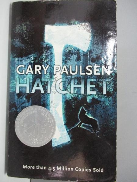 【書寶二手書T8/原文小說_AJ1】Hatchet_Paulsen, Gary