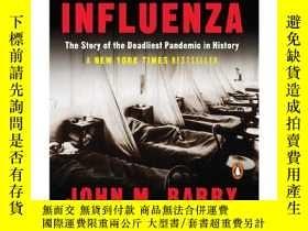 二手書博民逛書店流感罕見英文原版 The Great Influenza: The story of the deadliest