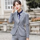 小圓點新潮斜口袋OL長袖西裝外套[9X468-PF]美之札