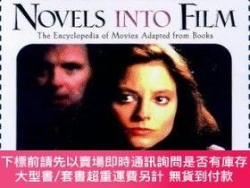 二手書博民逛書店Novels罕見into Film: The Encyclopedia of Movies Adapted fro