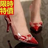 真皮高跟鞋-百搭典雅經典女尖頭鞋2色58l35[巴黎精品]