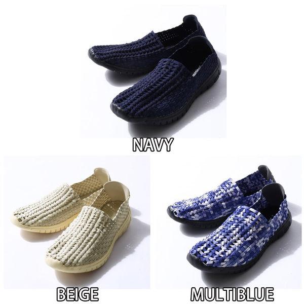 懶人鞋 編織休閒鞋 SlipOn