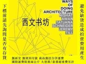 二手書博民逛書店【罕見】2011年出版 Spatial Agency: Othe