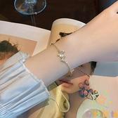 簡約冷淡風手飾氣質森系蝴蝶閨蜜手鏈女小眾設計手鐲【奇妙商鋪】