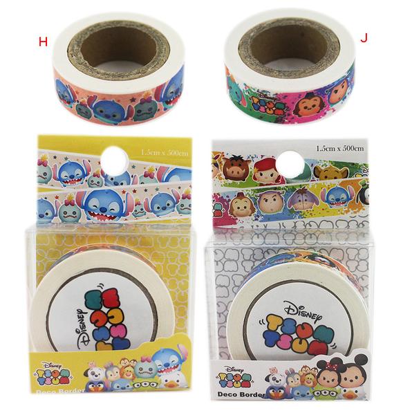 【卡漫城】 Tsum 紙膠帶 ㊣版 台灣製 貼紙 裝飾 史迪奇 Stitch Scrump 醜丫頭 星際寶貝 數量有限