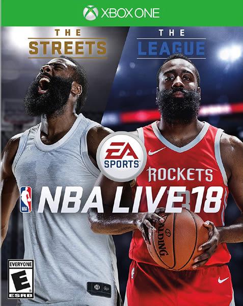 X1 NBA LIVE 18 勁爆美國職籃 18(美版代購)
