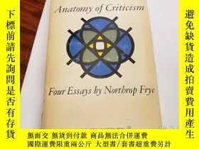 二手書博民逛書店Anatomy罕見of criticism Four EssaysY94537 Northrop Frye A
