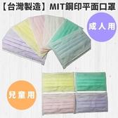 【台灣製造】MIT鋼印平面口罩 50入實惠包 成人/孩童