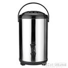 304不銹鋼奶茶桶雙層超長保溫桶商用開水桶帶水龍頭奶茶店豆漿桶『新佰數位屋』