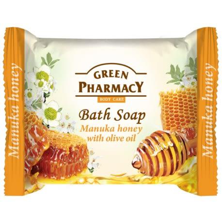 岡山戀香水~Green Pharmacy 草本肌曜 麥蘆卡蜂蜜&橄欖嫩膚皂100g ~優惠價:79元