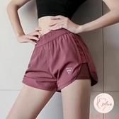 運動短褲女寬松休閑夏季顯瘦高腰舞蹈瑜伽褲【大碼百分百】